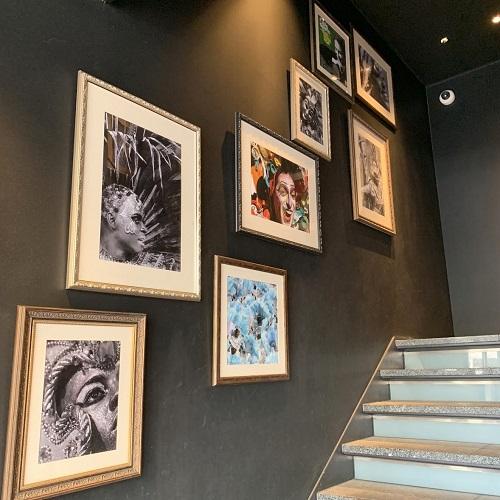 リオ・グランデグリル恵比寿の階段