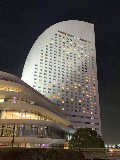 ヨコハマグランドインターコンチネンタルホテルの夜景