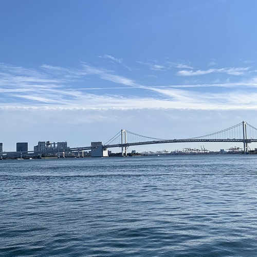 シェフズライブキッチン(インターコンチネンタル東京ベイ)席からの眺望