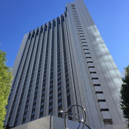 ANAインターコンチネンタルホテル東京の外観