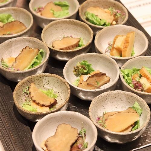 アン肝の冷製 西京味噌風味