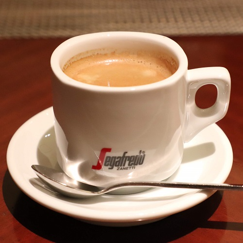 マーブルラウンジのホットコーヒー