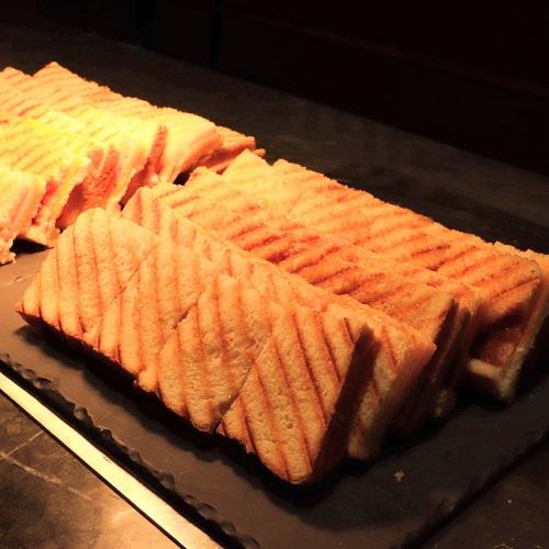 ハムとチーズのグリルサンドイッチ