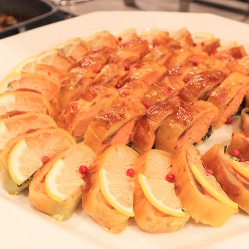 サーモンのパイ包み焼き