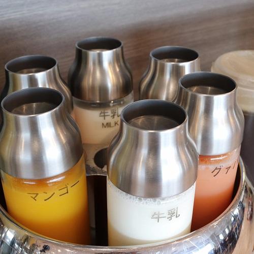 横浜桜木町ワシントンホテルのランチビュッフェ|牛乳