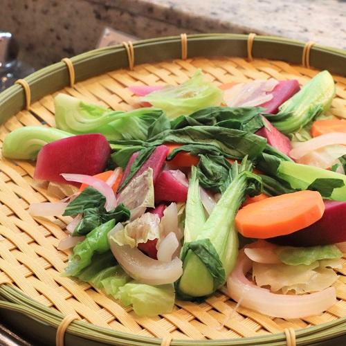 横浜ベイシェラトンのビュッフェ|蒸し野菜
