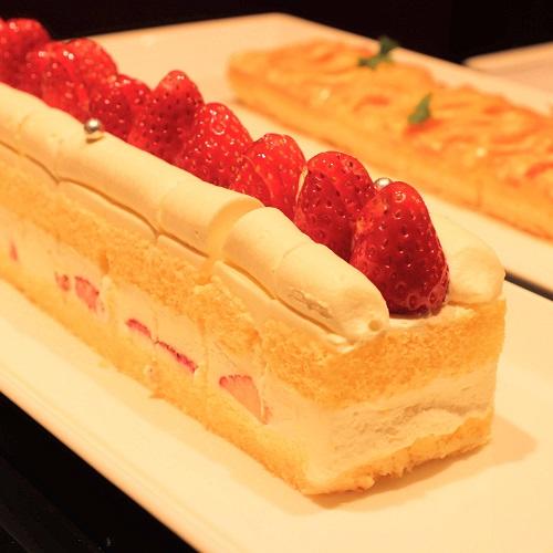 横浜ベイシェラトンのビュッフェ|ストロベリーショートケーキ