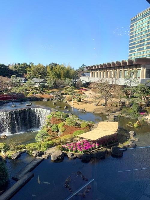 ニューオータニの日本庭園