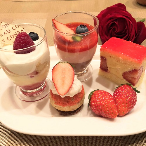 コンラッド東京『セリーズ』デザート盛り