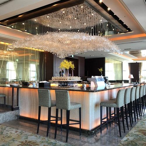 シャングリラホテル東京のアフタヌーンティー|バーカウンター席