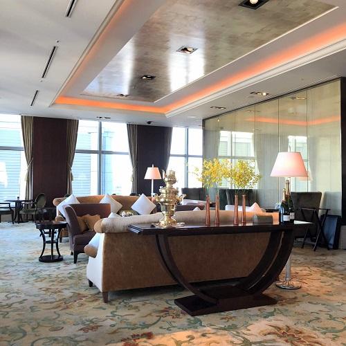 シャングリラホテル『MIYABI アフタヌーンティー』の席1