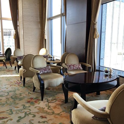 シャングリラホテル『MIYABI アフタヌーンティー』の席