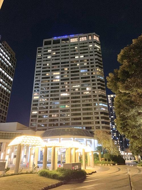 第一ホテル東京シーフォートの外観
