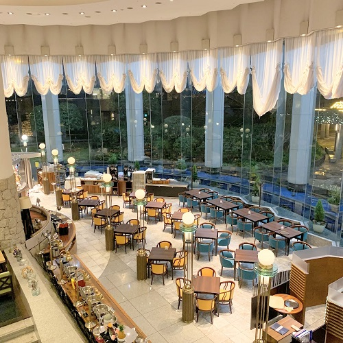 第一ホテル東京シーフォート『グランカフェ』の空間