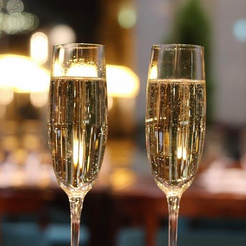 第一ホテル東京シーフォート『グランカフェ』のスパークリングワイン