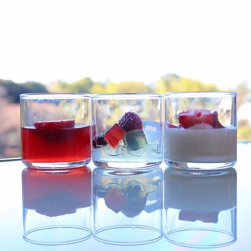 ホテルニューオータニ「ガーデンラウンジ」のあまおうグラスデザート