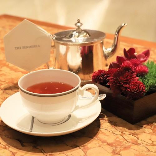 ザ・ペニンシュラホテルの『ストロベリーアフタヌーンティー』の紅茶