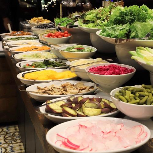 バルバッコア渋谷のサラダ