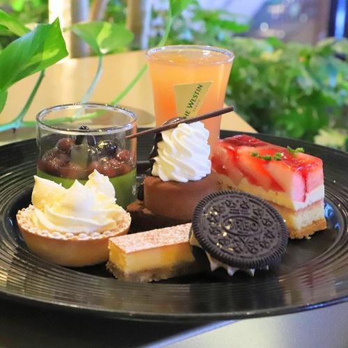 ザ・テラス(ウェスティンホテル東京)の苺のデザートビュッフェ(皿盛り1)