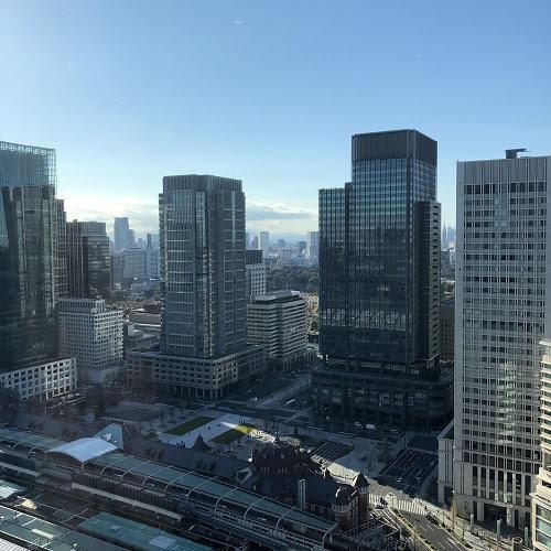 シャングリラホテル『ザ・ロビーラウンジ』の眺望