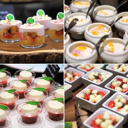 ザ・テラス(ウェスティンホテル東京)の苺のデザートビュッフェ