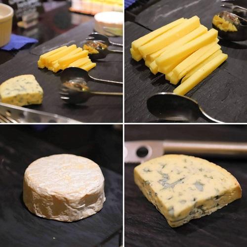 ウェスティン東京『ザ・テラス』チーズ