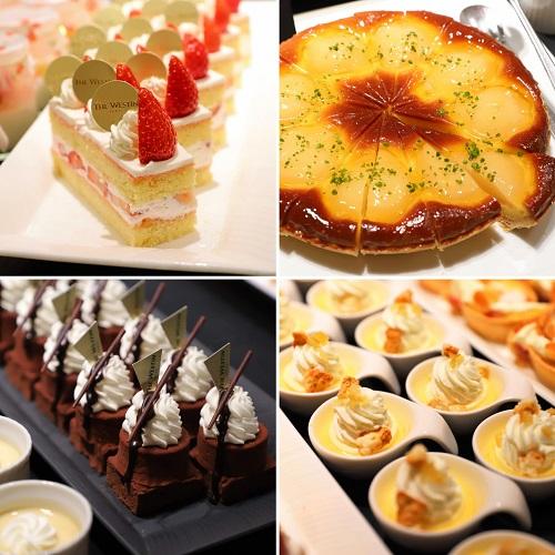 ウェスティン東京『ザ・テラス』ディナーのデザート