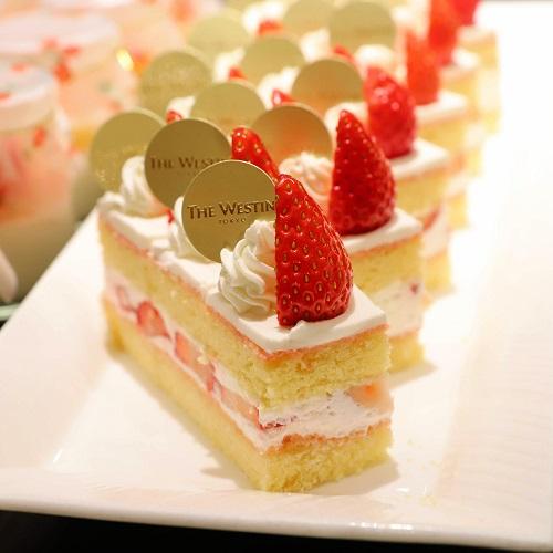 ウェスティン東京『ザ・テラス』ショートケーキ