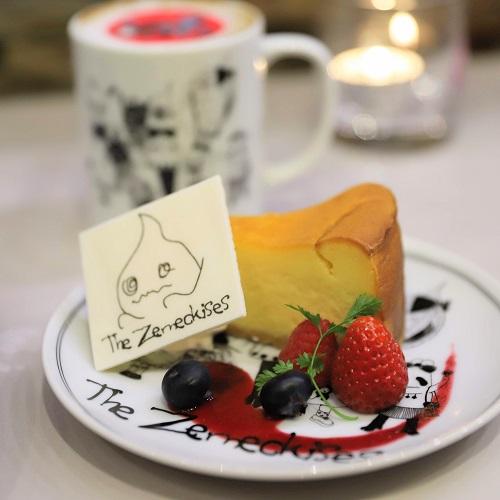 ゼメキスカフェ『ゼメキス家の自家製ニューヨークチーズケーキ』