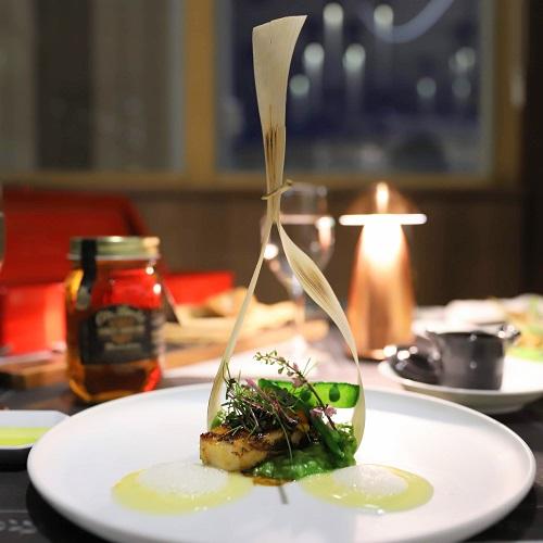 ハーレーダビッドソンコース(魚料理)