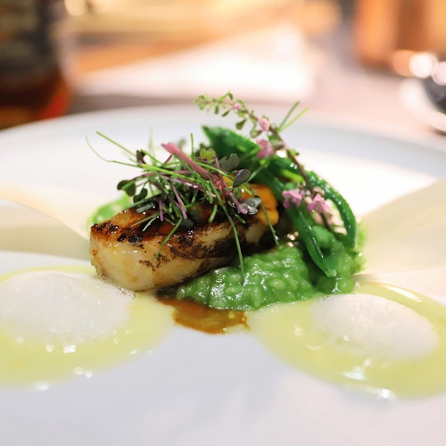ハーレーダビッドソンコース(魚料理2)