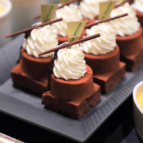 ウェスティン東京『ザ・テラス』チョコレートブラウニー