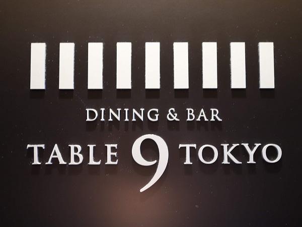 TABLE 9 TOKYO