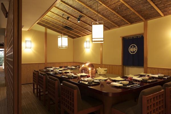 グランドプリンスホテル高輪「若竹」の天麩羅ランチ|カウンター