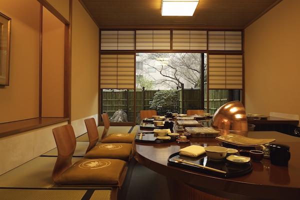 グランドプリンスホテル高輪「若竹」の天麩羅ランチ|個室