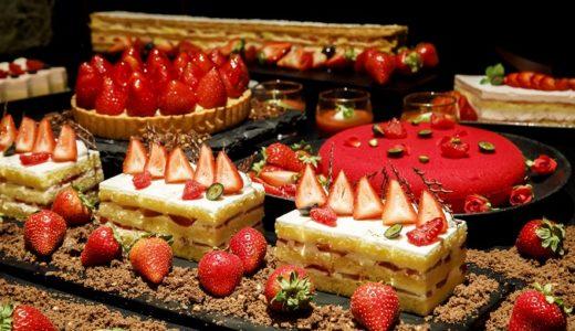 【苺づくし】品川プリンスホテルのスイーツブッフェ|DINING & BAR TABLE9TOKYO