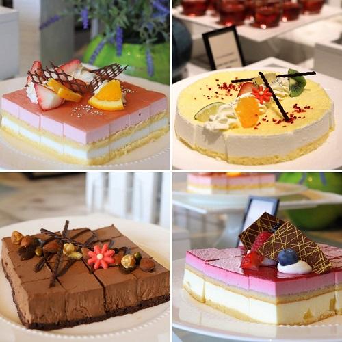ヒルトン東京お台場のビュッフェ|ケーキ