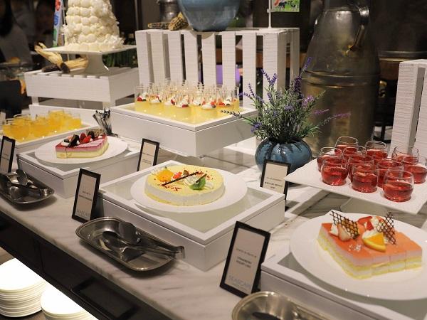 ヒルトン東京お台場のビュッフェ|デザートコーナー