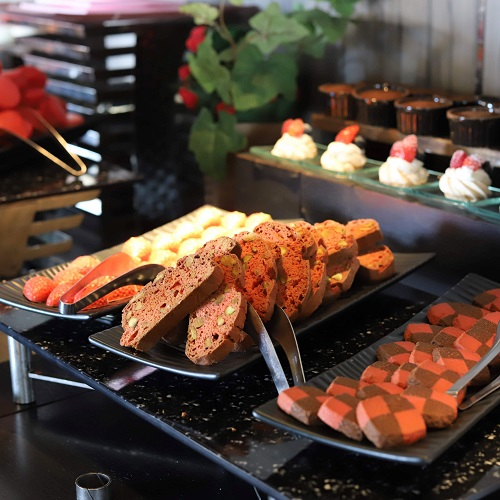 ANAインターコンチネンタルホテル東京『MIXX バー&ラウンジ』のク焼き菓子