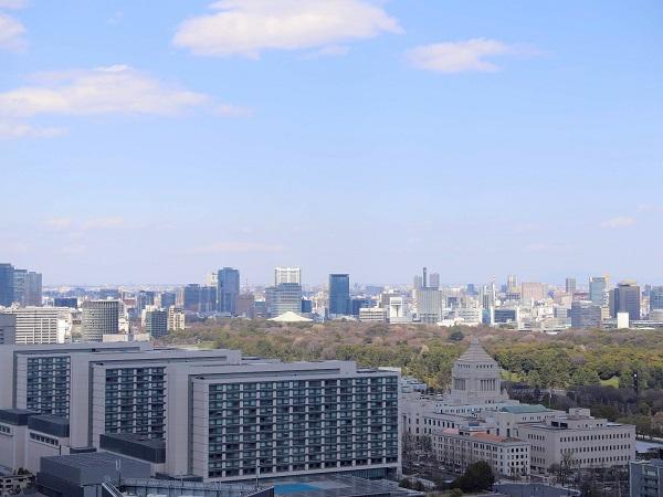 ANAインターコンチネンタルホテル東京『MIXX バー&ラウンジ』の景色3