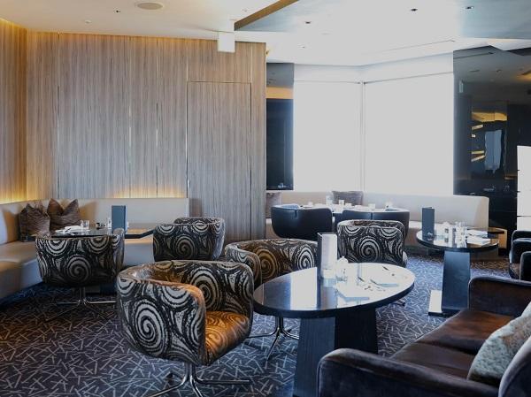 ANAインターコンチネンタルホテル東京『MIXX バー&ラウンジ』の席1