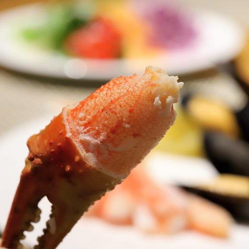 ヒルトン東京お台場のビュッフェ|ずわい蟹