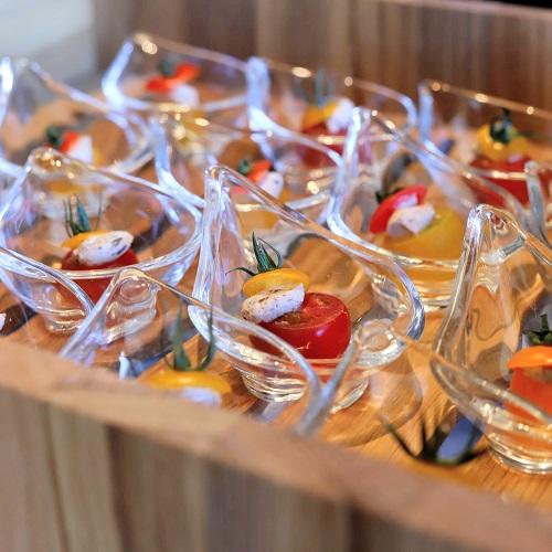 ANAインターコンチネンタルホテル東京『MIXX バー&ラウンジ』のトマトサラダ