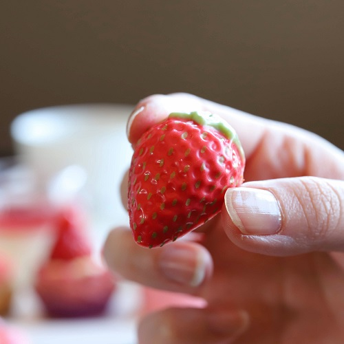 ANAインターコンチネンタルホテル東京『MIXX バー&ラウンジ』の苺チョコレート