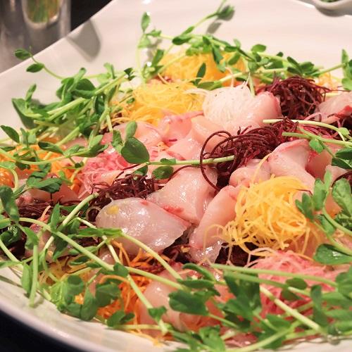 シェフズライブキッチン(インターコンチネンタル東京ベイ)ハマチのサラダ