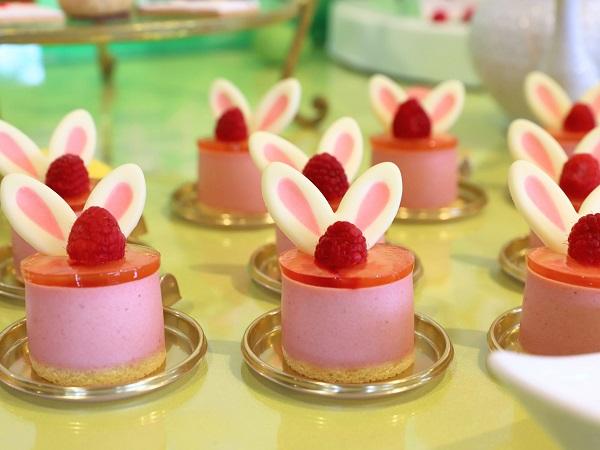 アリスのイースター デザート&ランチブッフェ(ホテル インターコンチネンタル 東京ベイ)ストロベリーレモン