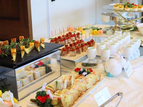 アリスのイースター デザート&ランチブッフェ(ホテル インターコンチネンタル 東京ベイ)料理