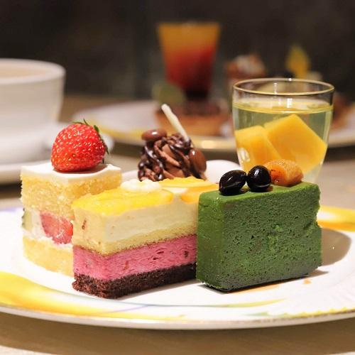 ウェスティンホテル東京『ザ・テラス』抹茶デザートビュッフェ2019(通常デザート3)