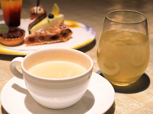 ウェスティンホテル東京『ザ・テラス』抹茶デザートビュッフェ2019(ドリンク)