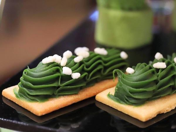 ANAインターコンチネンタルホテル東京の抹茶アフタヌーンティー スティックケーキ